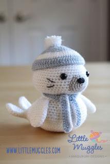 http://losenredosdelyanne.blogspot.com.es/2015/06/patron-foca-amigurumi.html