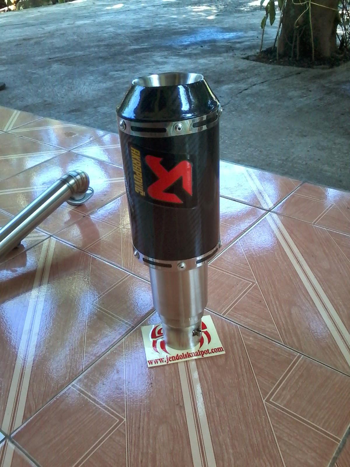 knalpot akrapovic , knalpot custom . knalpot motor , knalpot ninja