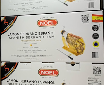 Costco 1244496 - Noel Spanish Serrano Jamon: great as a tapa or as your meal