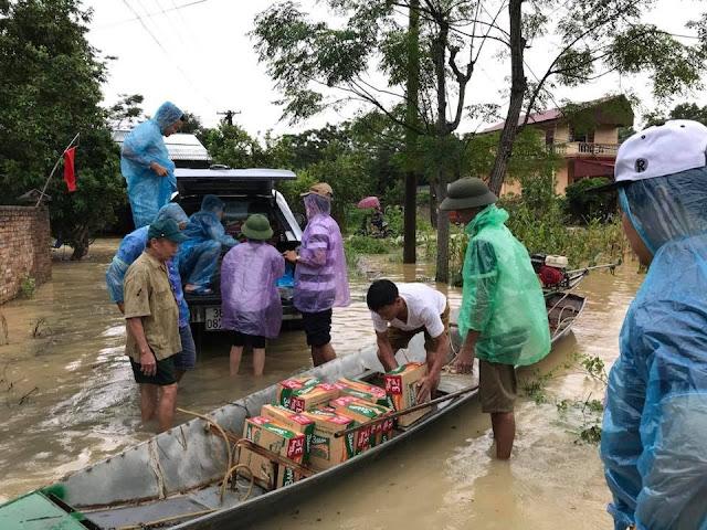 Toàn cảnh lũ lụt tại Ninh Bình và hoạt động cứu trợ tại Thanh Hoá - Ảnh minh hoạ 15