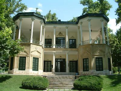 Le pavillon de Ahmad Shah
