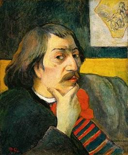 Imagen de Paul Gauguin con cabello largo