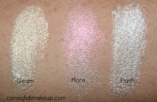 Review lluminanti in Crema Mulac Cosmetics swatches dupes highlighting hightlighter contouring