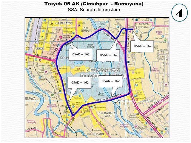 Rute Angkot Cimahpar-Ramayana