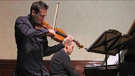 Maxim Rysanov & Ashley Wass in rehearsal at the Wigmore Hall - photo BBC