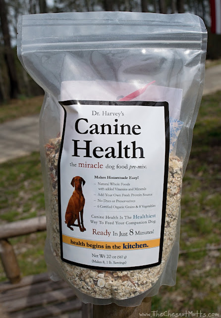 Bag of Dr. Harvey's Canine Health