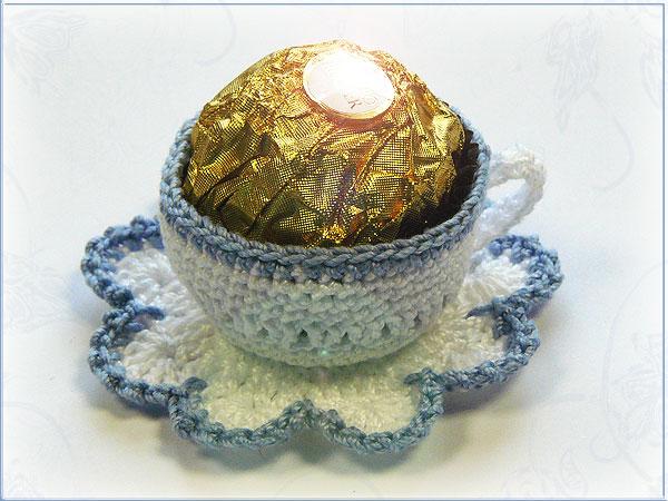 Internetfaszination Süße Kaffeetasse