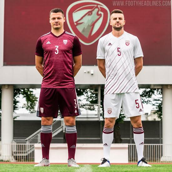 Lancement des kits domicile et extérieur Lettonie 2020  - Euro 2020