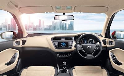 Hyundai Elite i20. Hyundai dash bord pose