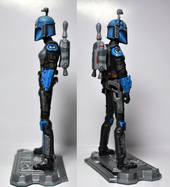 Star Wars The Clone Wars Custom 3.75 Bo-Katan Portrait B for Hasbro TVC