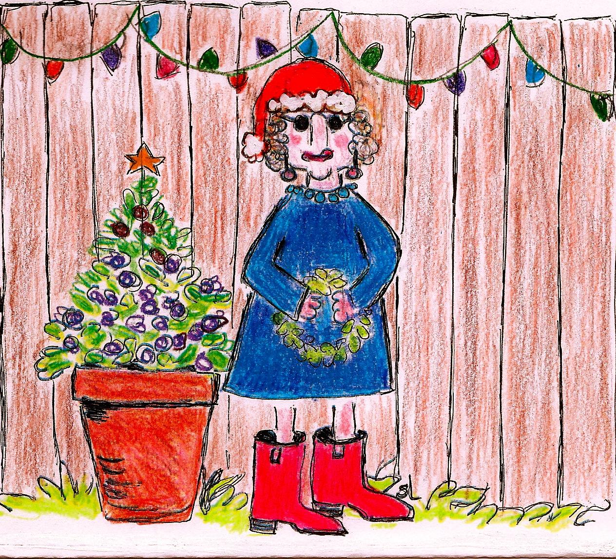 Westbury Gardens Christmas: The Brenham House: Christmas In Small Town Brenham, Texas
