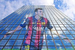 Messi GIMP: Combinar capas: Claridad