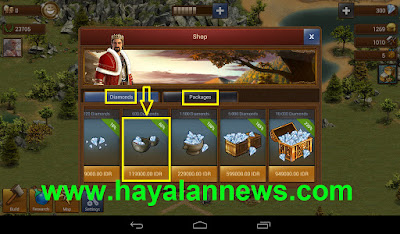 Dapatkan diamonds dan packages game forge of empires gratis disini