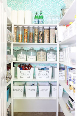 Professional-Organizer-Houston-kitchen-organization-clear-pantry-containers