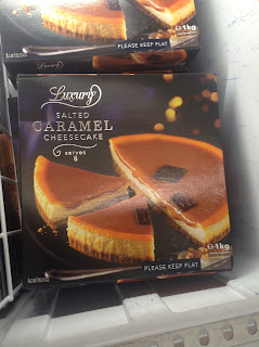 Iceland Luxury Salted Caramel Cheesecake