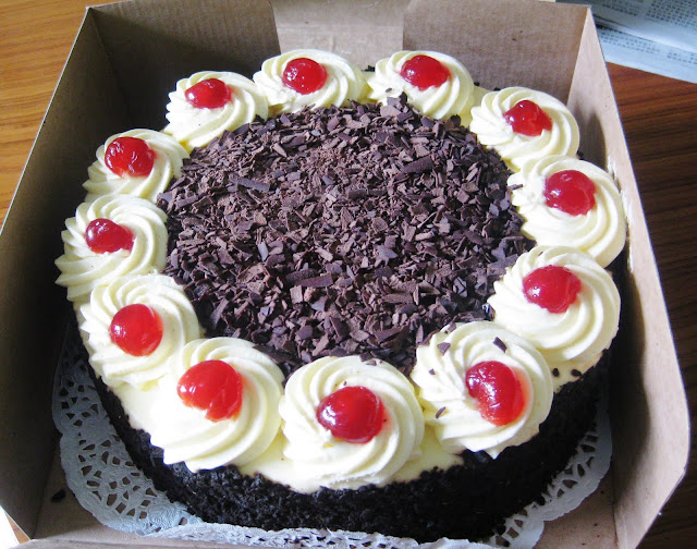 Lily not Louise The Cheesecake Shop Blackforest Torte