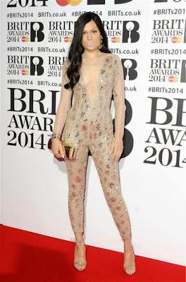 Jessie J BRIT AWARDS 2014