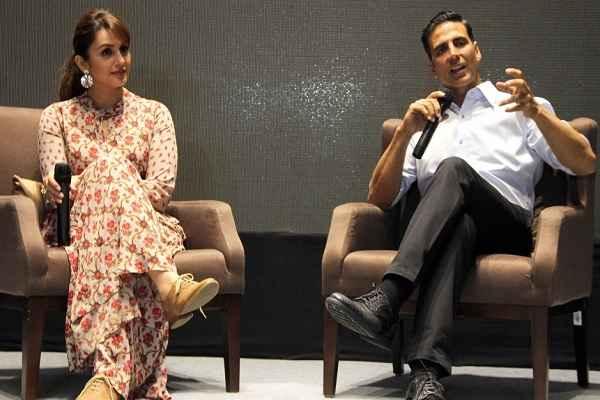 अहमदाबाद: अक्षय और हम कुरैशी ने किया Jolly LLB 2 का प्रोमोशन