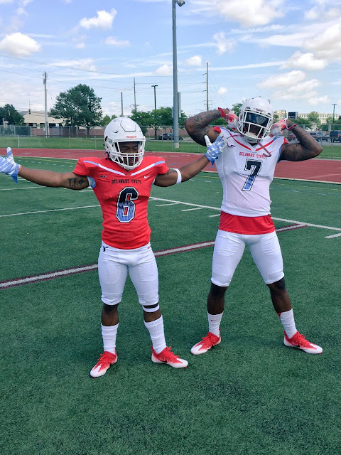 Delaware State 2016 Nike uniforms