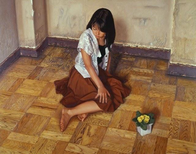 Реалистичные картины маслом. Osamu Obi