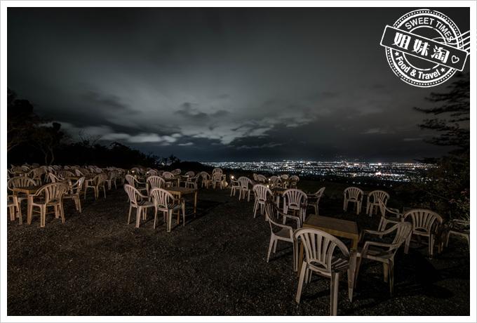 台東-星星部落景觀咖啡-無敵夜景