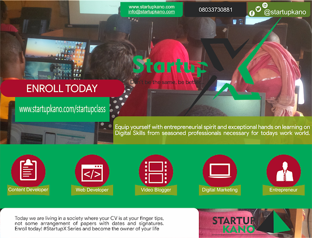 REGISTER FOR STARTUP CLASSES AND UPGRADE YOUR SKILLS