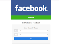 Script Phising Facebook Tampilan Auto Like