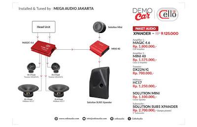 Paket Audio Expander by Mega Audio Jakarta