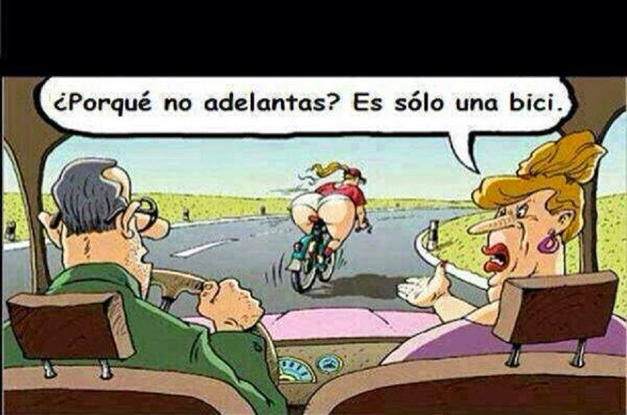 Es solo una bici