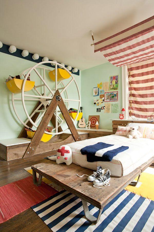 Habitaciones divertidas para niños - Dormitorios colores y estilos