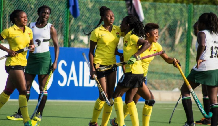 African Hockey teams Ghana and Kenya