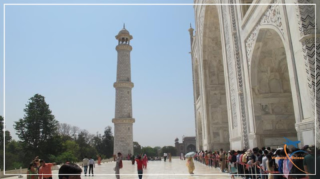 Taj Mahal símbolo do amor