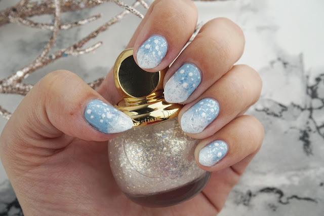 easy winter nail art