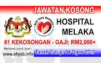 Jawatan Kerja Kosong Hospital Melaka logo www.ohjob.info ogos 2017