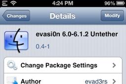 Cara Perbaiki Masalah Rebooting Setelah Jailbreak iOS 6 Evasi0n