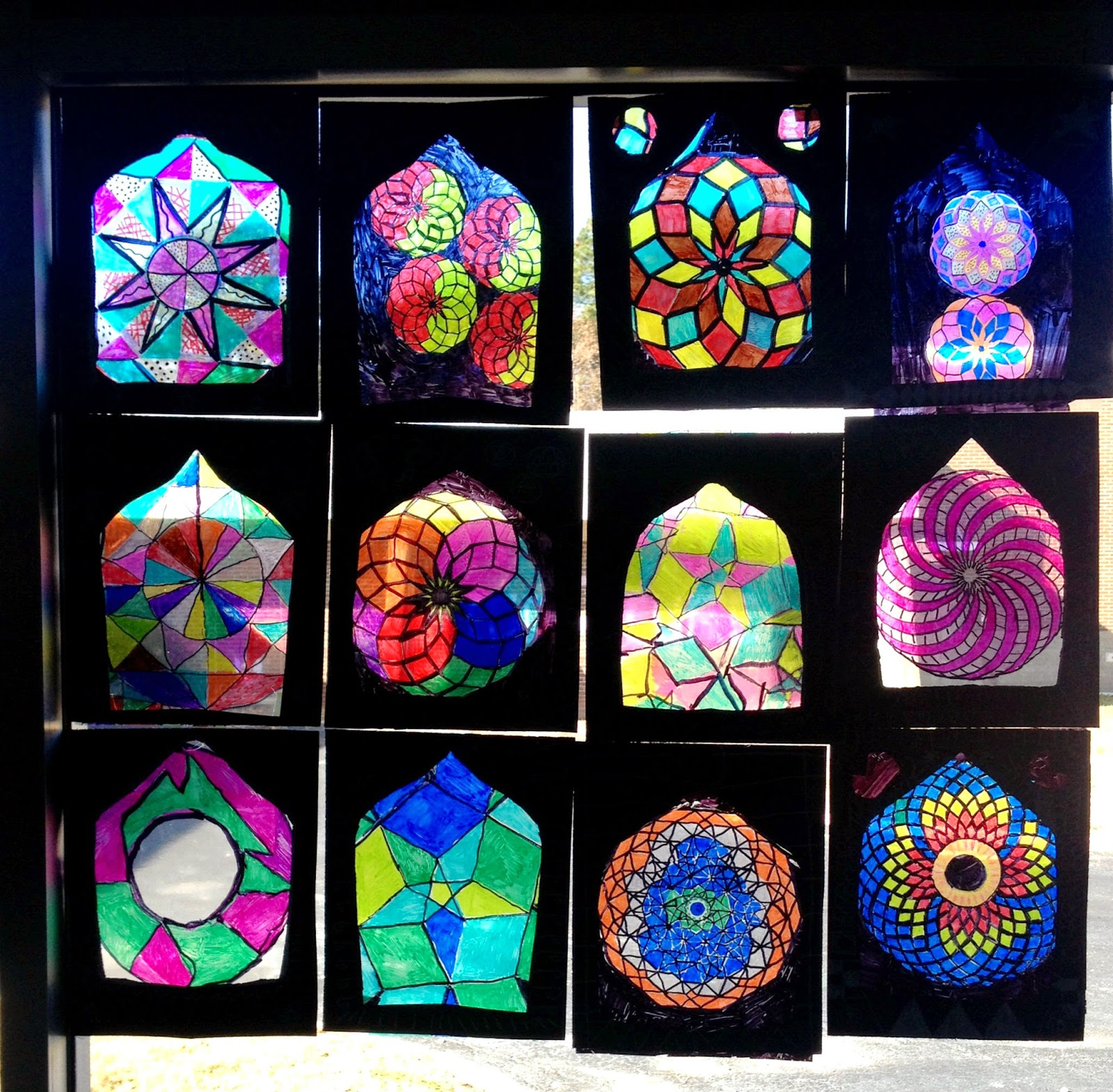 Lesson Plan: Islamic Stained Glass Windows ~ Artful Artsy Amy