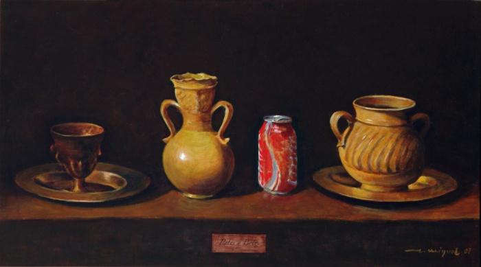 Испанский художник. Arturo Miquel Monfort