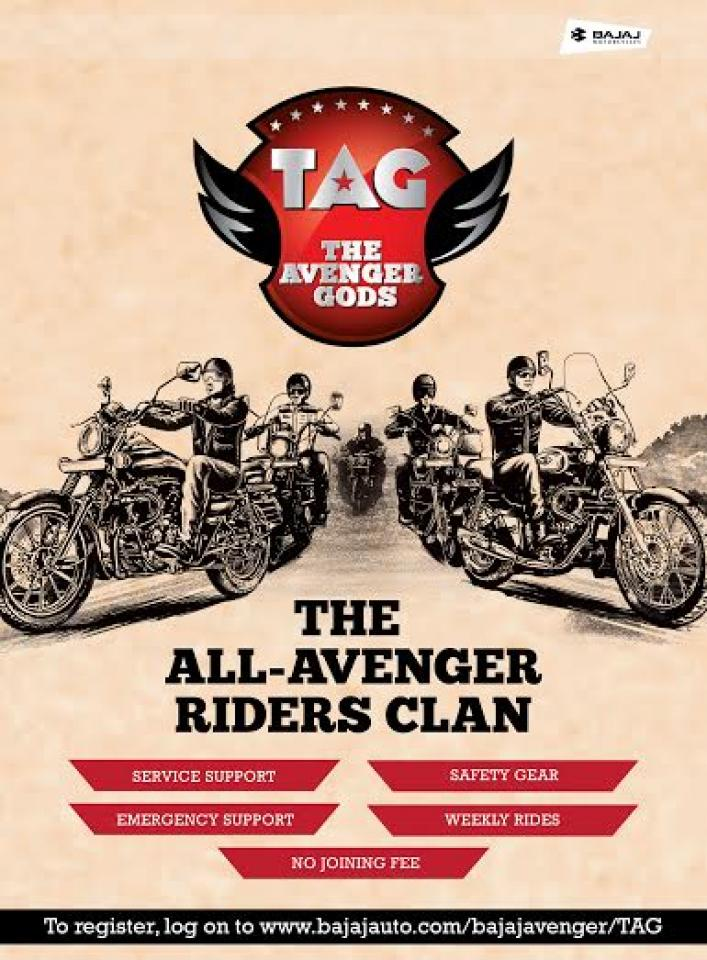 The Avenger Gods (TAG) Riding Groups