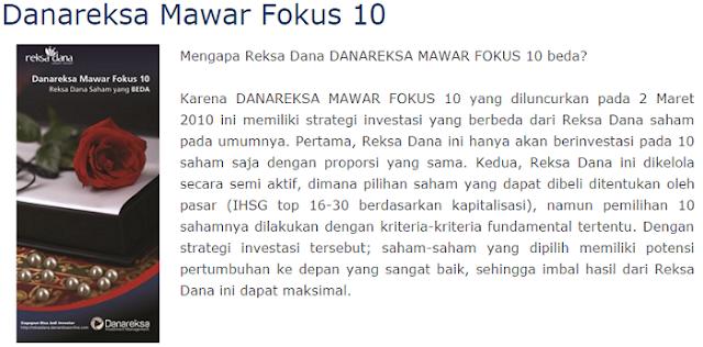 Danareksa Mawar Fokus 10