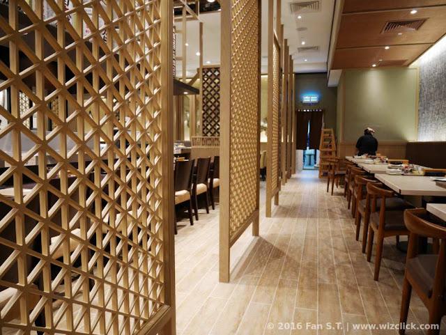 The open sitting area of the redesigned Ichiban Boshi Japanese restaurant