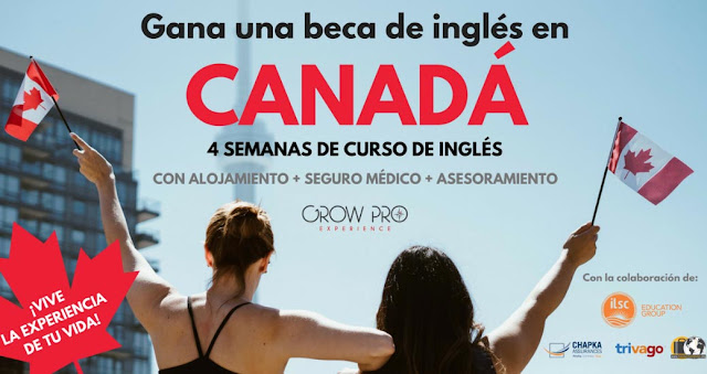 beca estudiar ingles canada