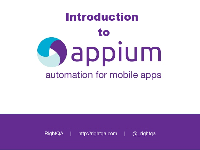 An introduction to Appium