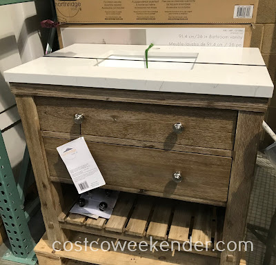 Improve your bathroom with the Northridge 36in Rustic Bathroom Vanity