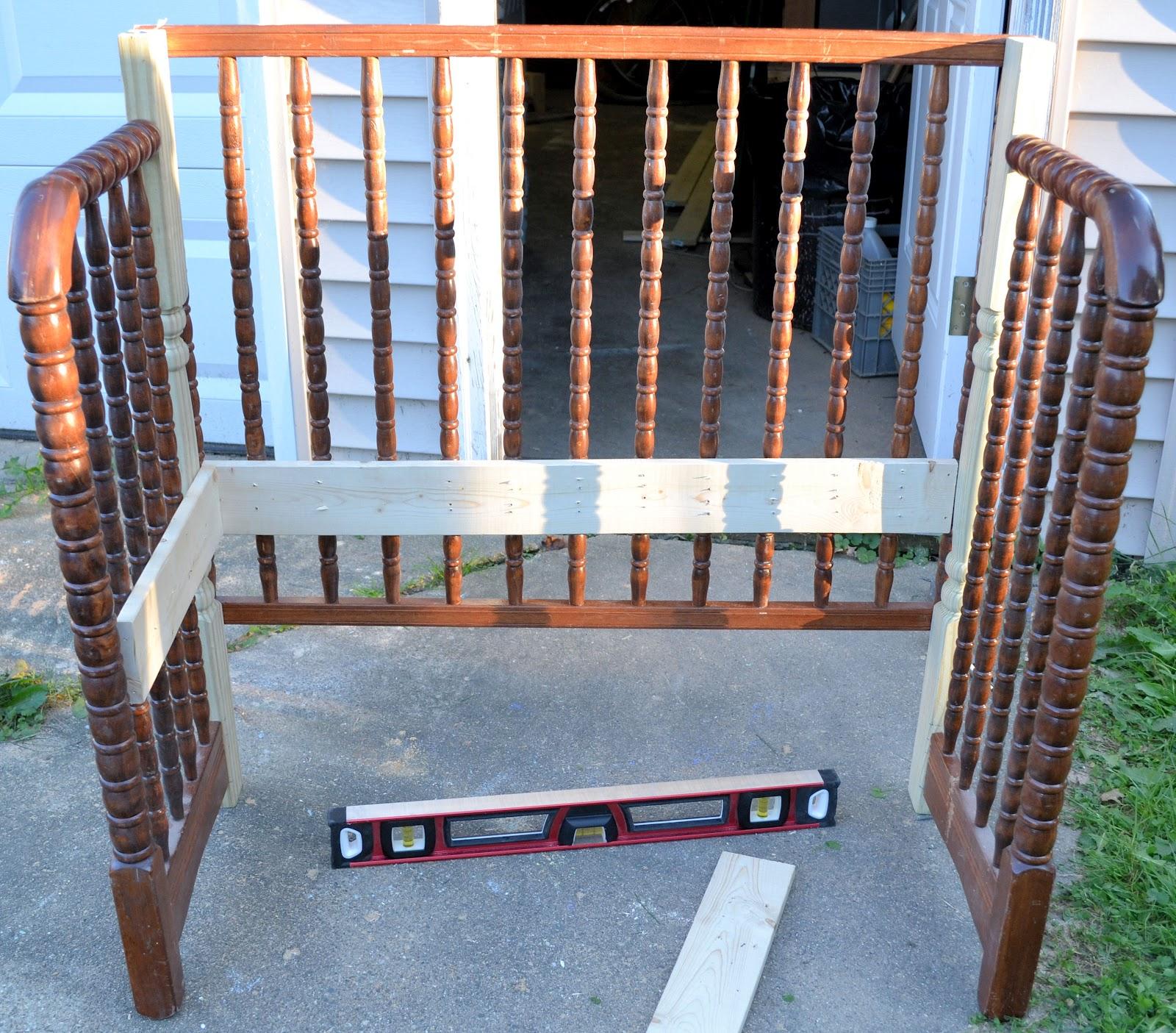 Shabby Love Crib Bench
