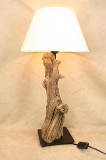 Treibholz Kunst Bodensee Treibholz Lampe DIY