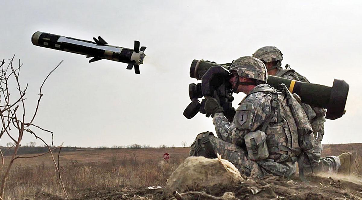 США направили Javelin в государство Украину