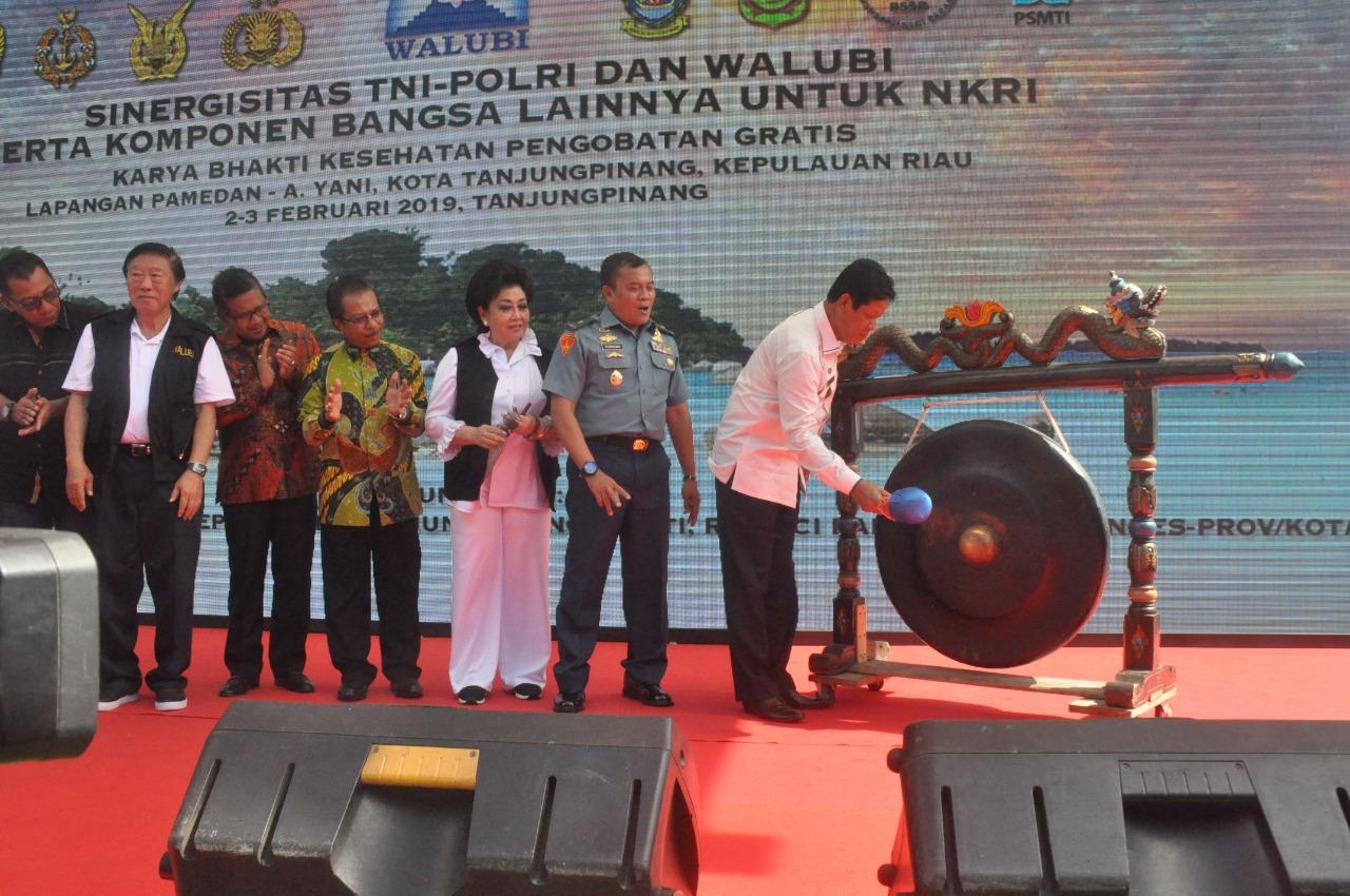 Walubi Bersama TNI-Polri Gelar Pengobatan Gratis di Tanjungpinang