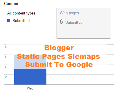 Static Page Sitemap, Blogger Sitemap for Static Page