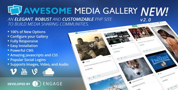 Awesome Media Gallery v2.2.1 – CodeCanyon