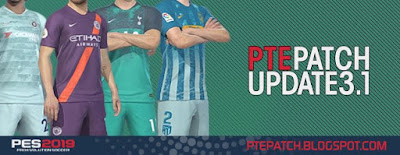 PES 2019 PTE Patch 2019 Update 3.1 - RELEASED 09/12/2018